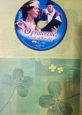 O princezně, která ráčkovala-DVD/v dárkovém obalu