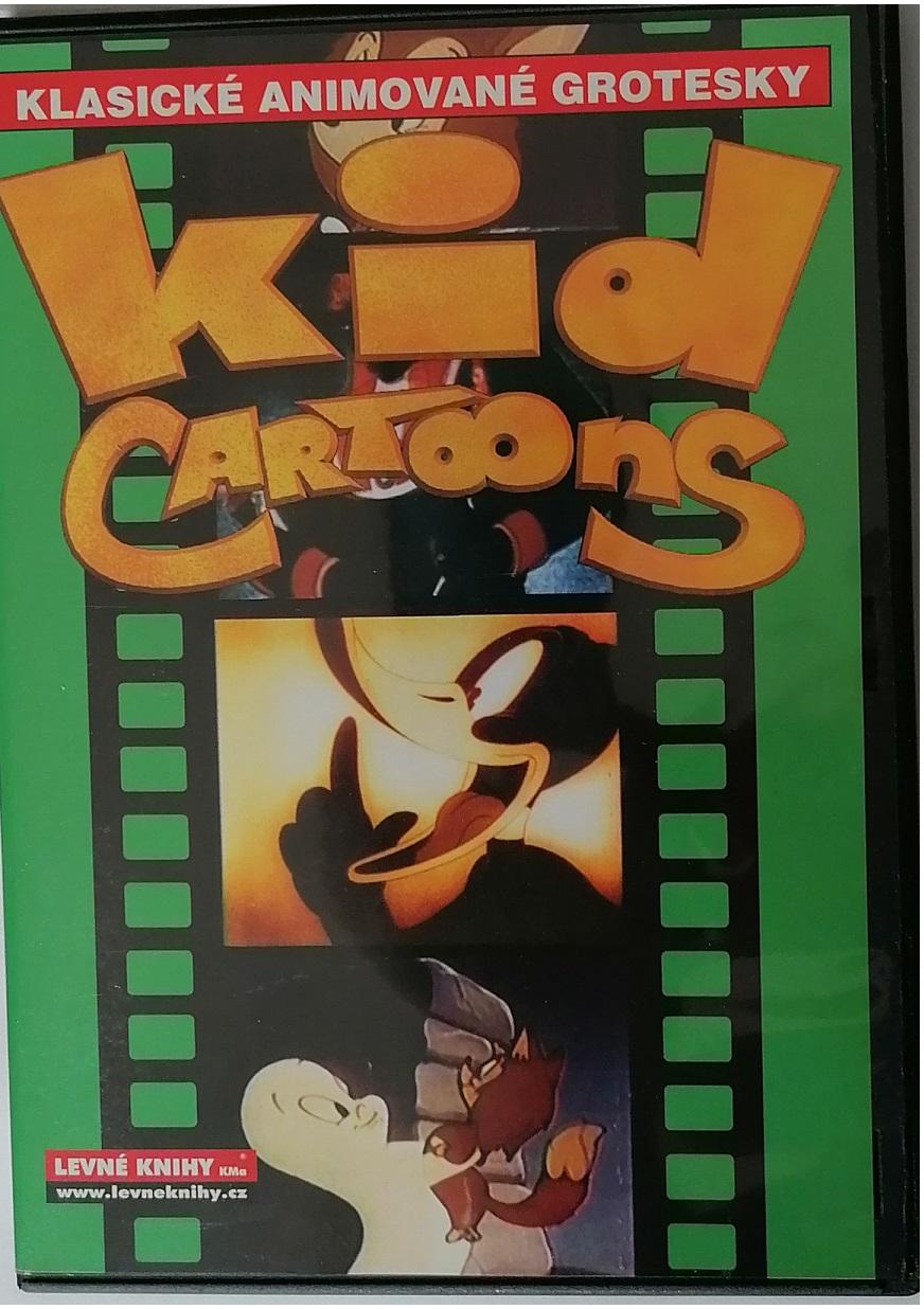 Klasické animované grotesky - Kid cartoons - DVD plast ( zelené )