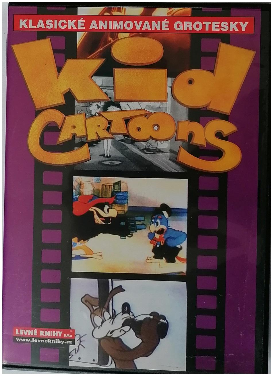 Klasické animované grotesky - Kid cartoons - DVD plast/ slim ( fialové)