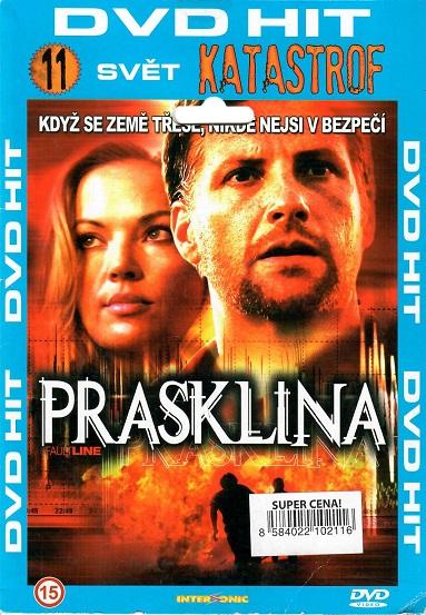 Prasklina ( pošetka ) DVD