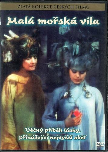 Malá mořská víla (M.Šafránková) - DVD slim