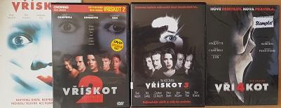 kolekce Vřískot 4 DVD