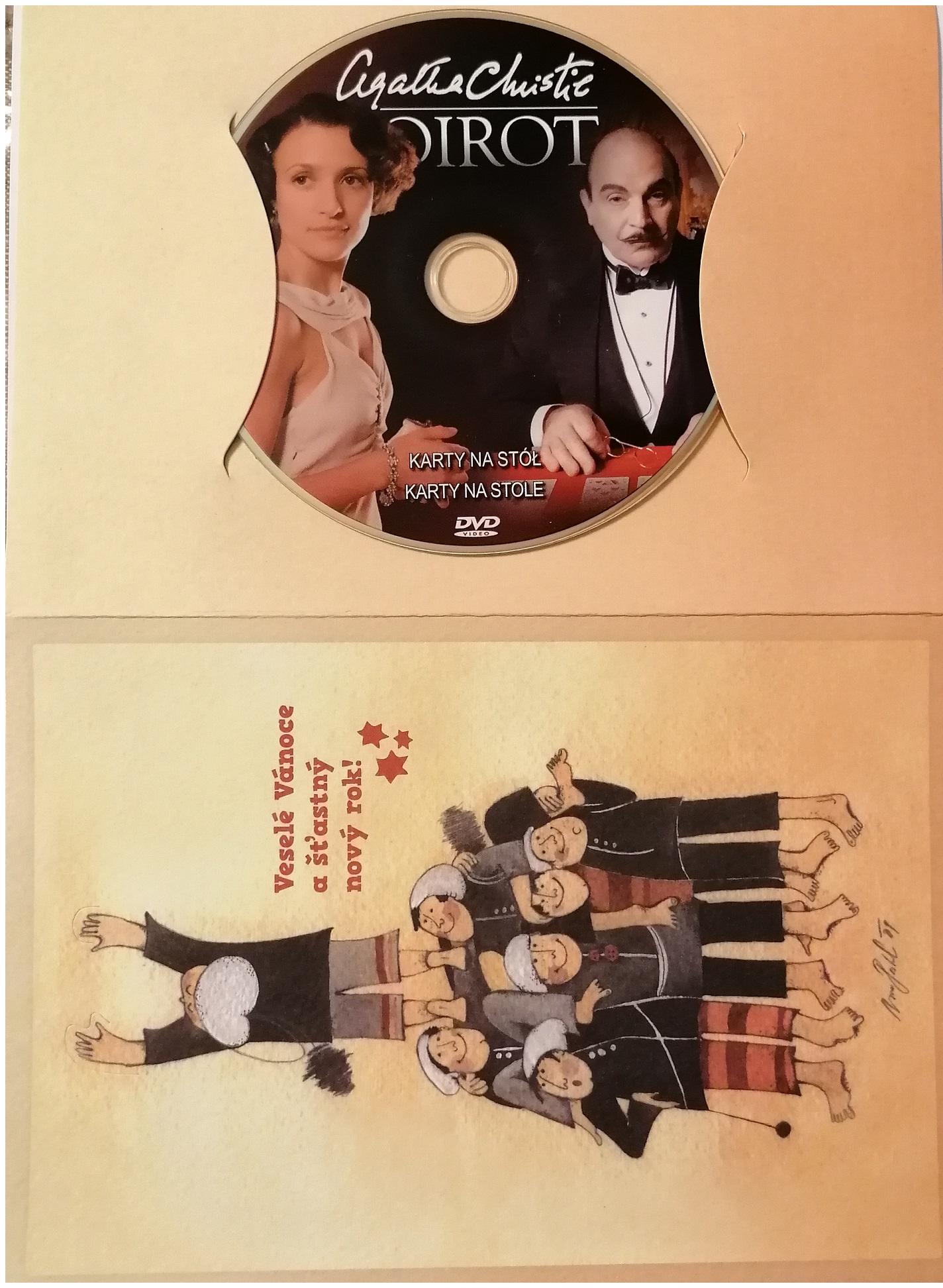 Poirot 38  -DVD - dárkový obal