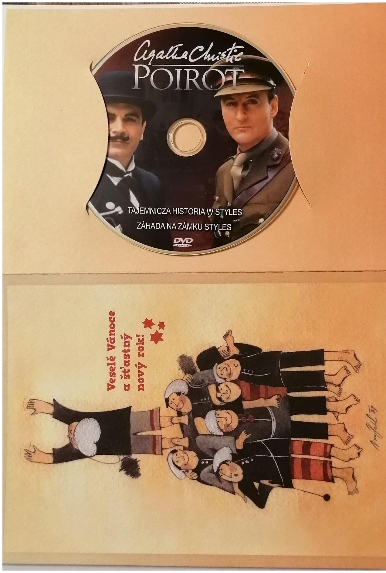 Poirot 16 -DVD - dárkový obal