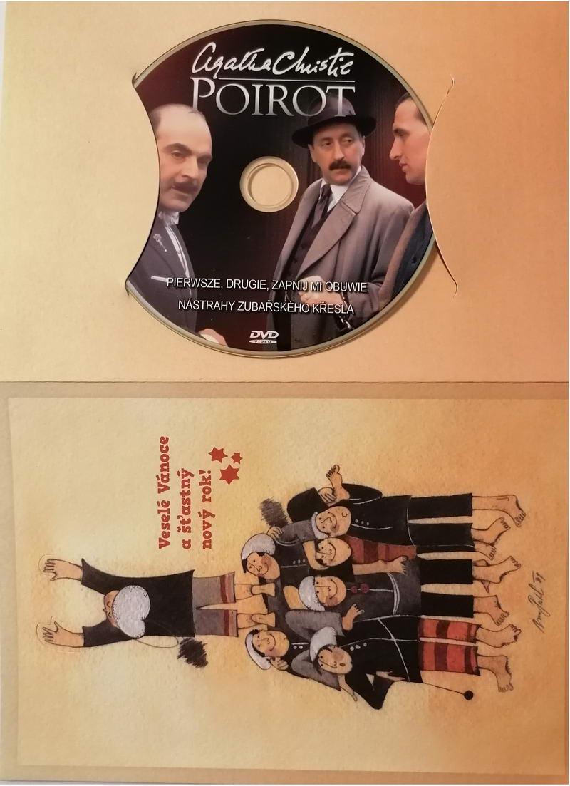 Poirot 19 -DVD - dárkový obal