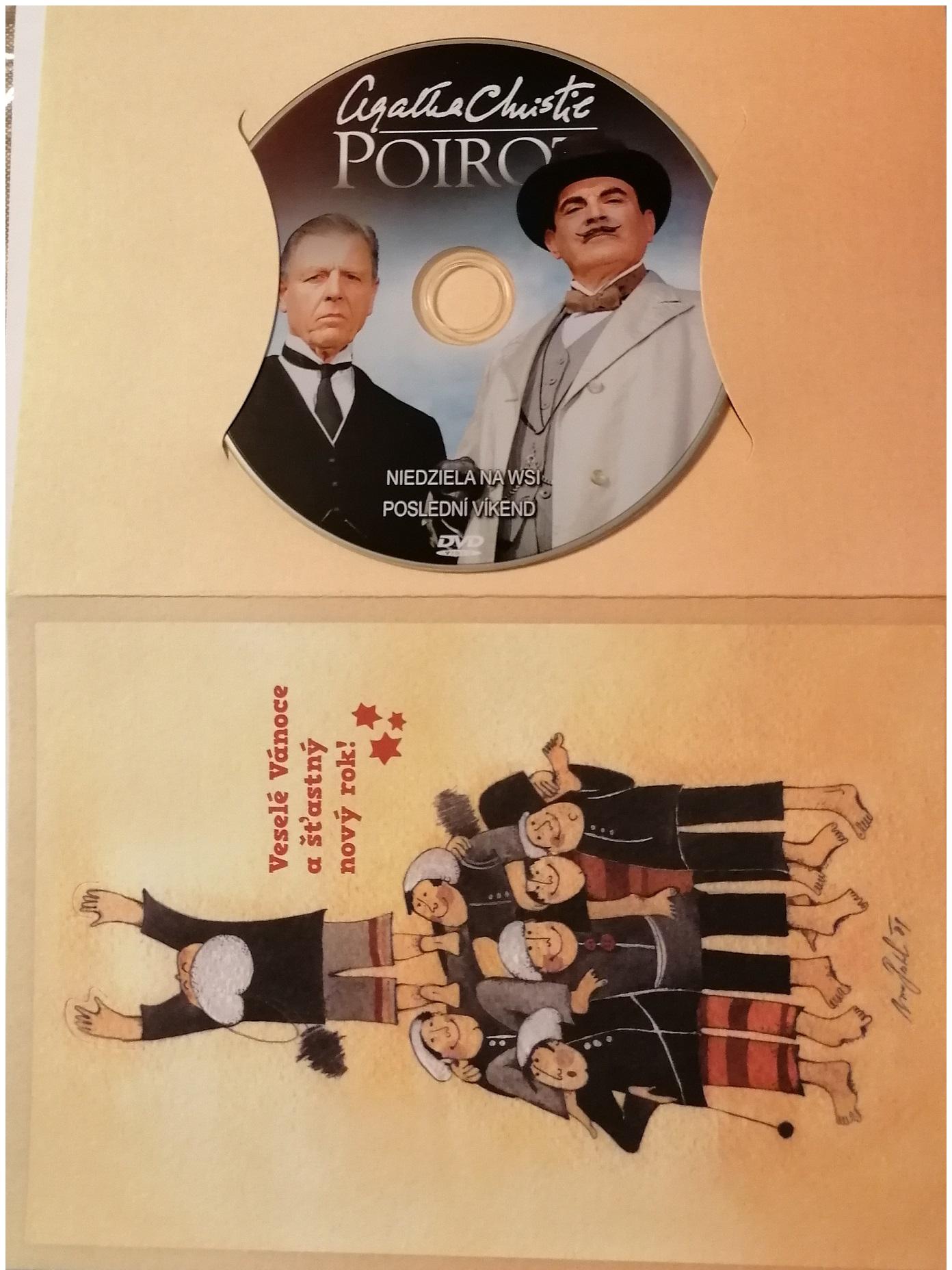 Poirot 35 -DVD - dárkový obal