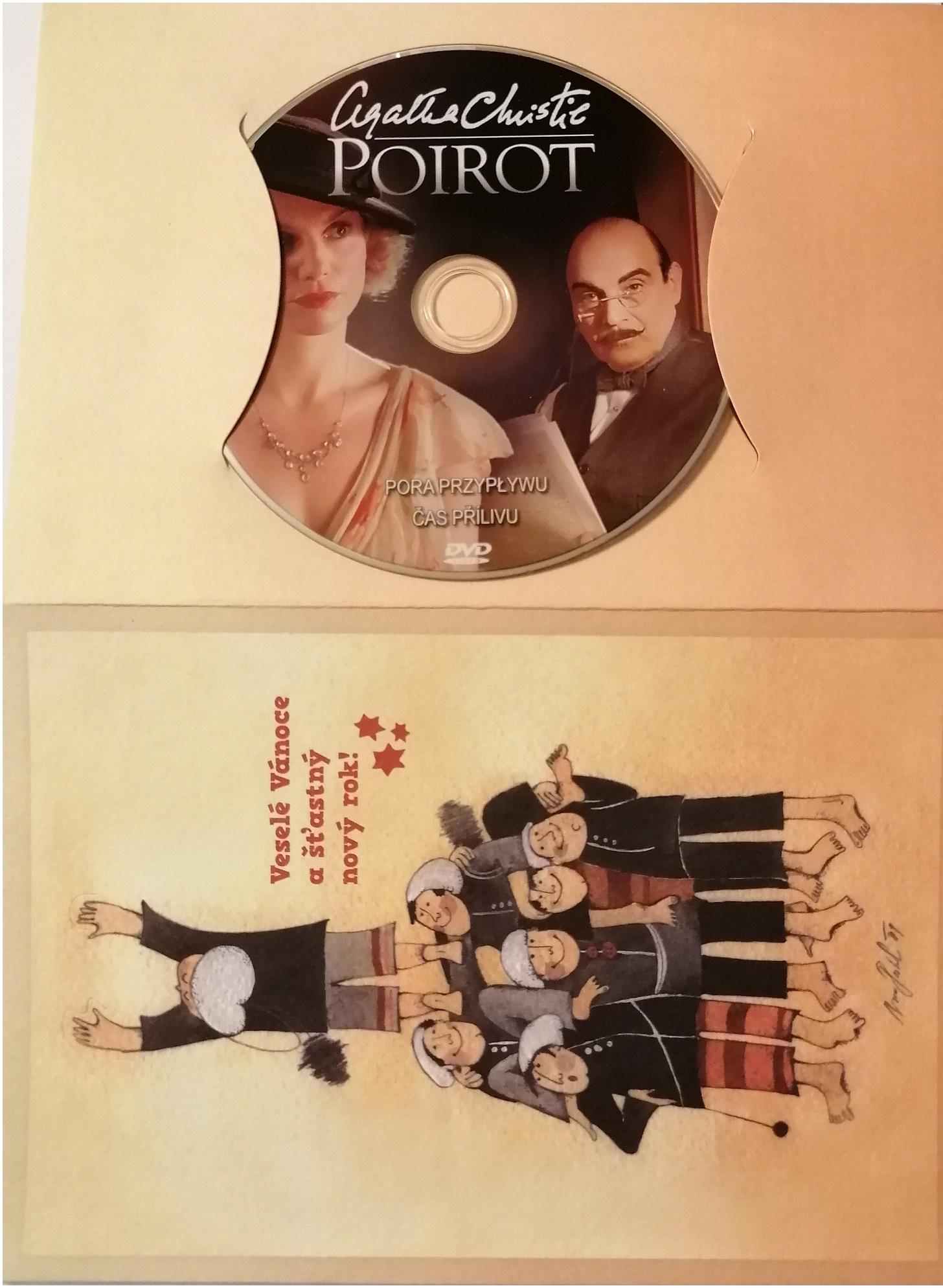 Poirot 39 -DVD - dárkový obal
