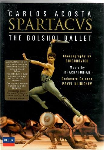 Spartacvs: The bolshoi ballet - Carlos Acosta ( plast ) DVD
