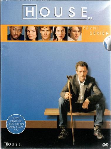 Kolekce Dr. House - 1. série 6 DVD ( 22 epizod ) bazarové zboží - DVD