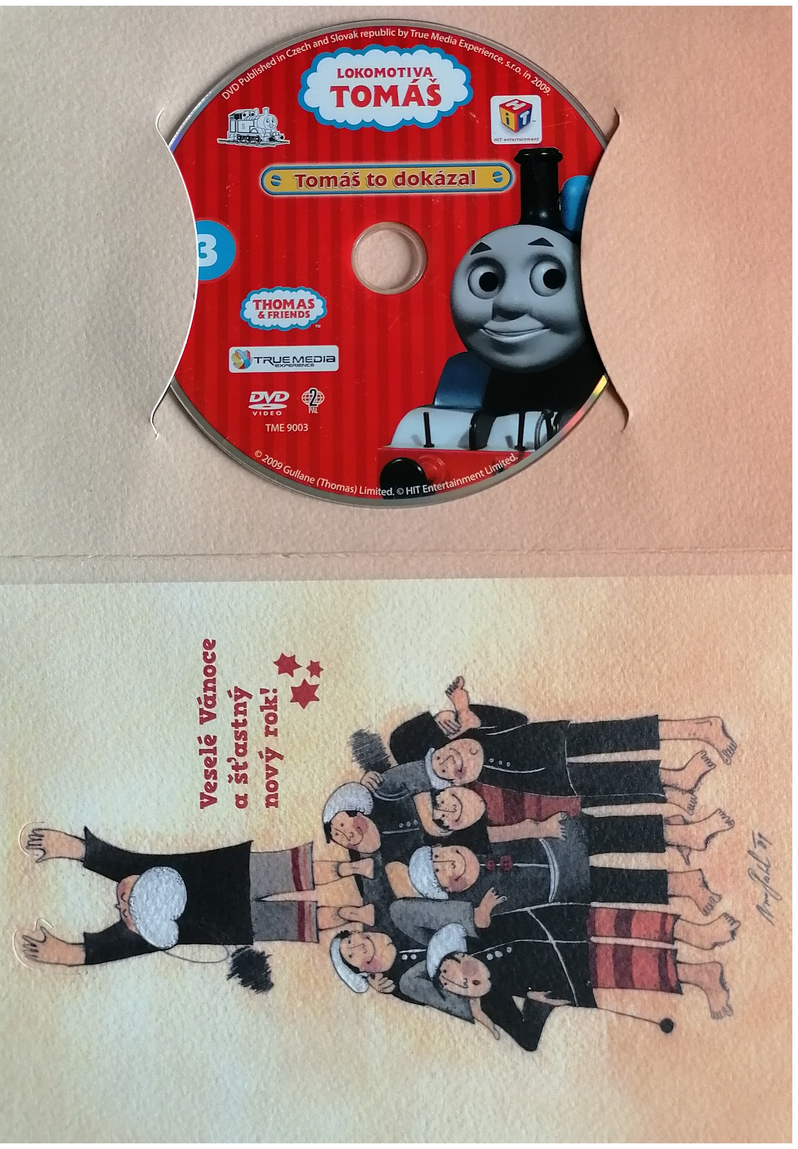 Lokomotiva Tomáš 3:Tomáš to dokázal - DVD - dárkový obal