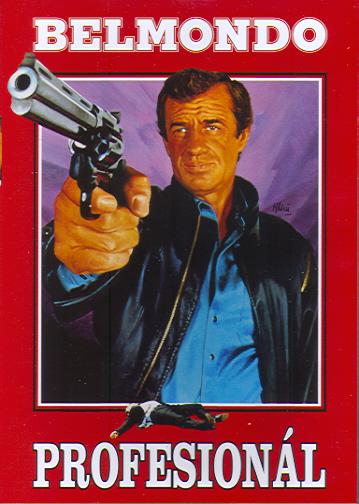 Profesionál (Belmondo) - DVD - papírová pošetka
