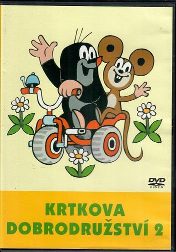 60 večerníčků - 19 - Krtkova dobrodružství 2 ( plast ) - DVD