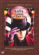 Karlík a továrna na čokoládu - 2 DVD plast