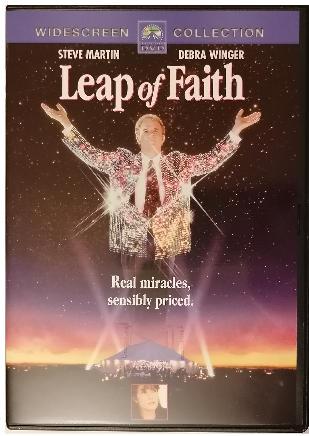Leap of Faith ( Muž zázraků) - DVD plast