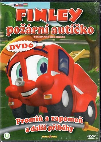 Finley - požární autíčko 6: Promiň a zapomeň a jiné příběhy ( plast ) DVD
