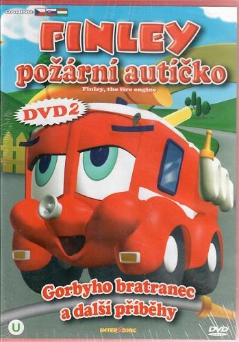 Finley - požární autíčko 2: Gorbyho bratranec a jiné příběhy ( plast ) DVD