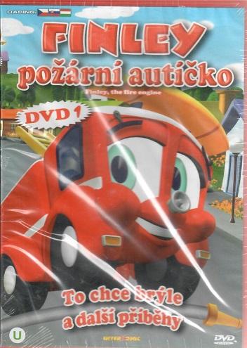 Finley - požární autíčko 1: To chce brýle a jiné příběhy ( plast ) DVD