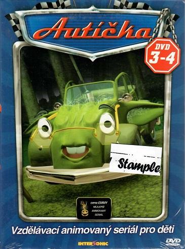 Autíčka 3-4 ( digipack ) DVD