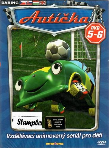 Autíčka 5-6 ( digipack ) DVD