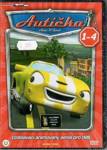 Autíčka 1- 4 ( BOX 4x DVD )