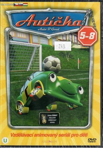 Autíčka 5-8 ( BOX 4x DVD )
