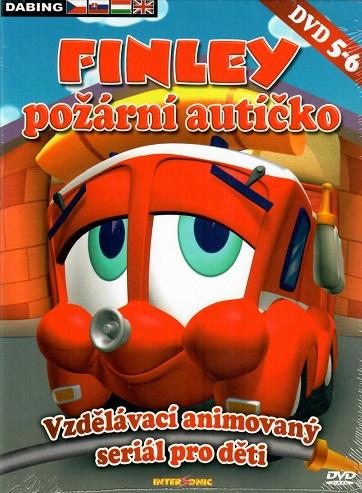 Finley - požární autíčko 5-6 ( digipack ) DVD