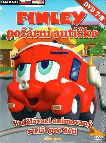 Finley - požární autíčko 7-8 ( digipack ) DVD