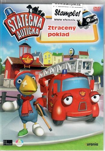Statečná autíčka: Tracený poklad ( plast ) DVD