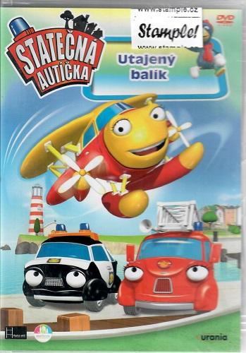 Statečná autíčka: Utajený balík ( plast ) DVD