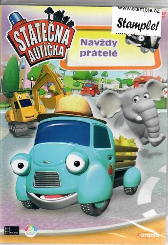 Statečná autíčka: Navždy přátelé ( plast ) DVD