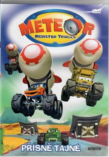 Meteor: Monster trucks - Přísně tajné ( plast ) DVD