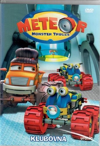 Meteor: Monster trucks - Klubovna ( plast ) DVD