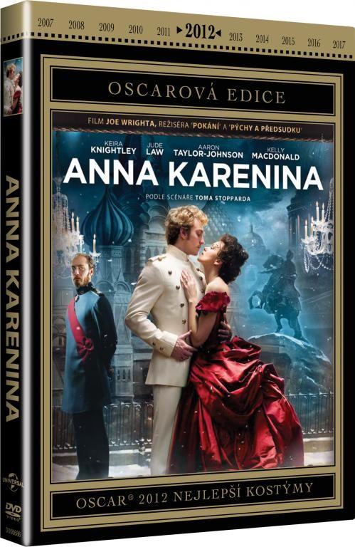 Anna Karenina - DVD plast