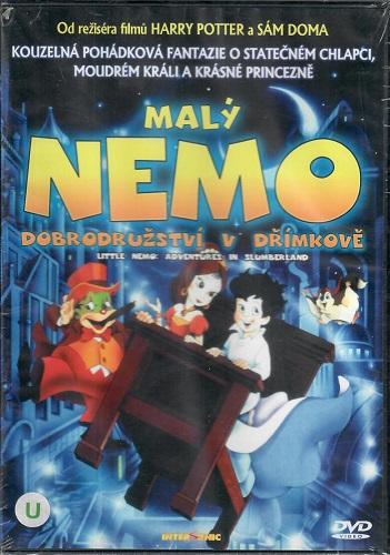 Malý Nemo: Dobrodružství v Dřímkově ( plast )DVD