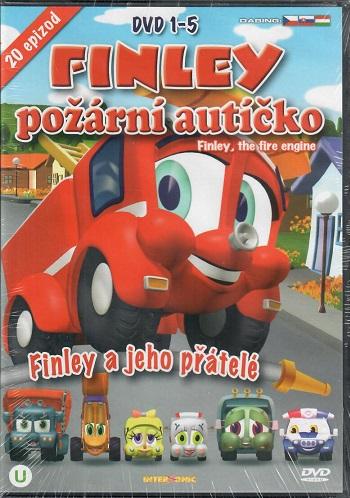 Finley - požární autíčko DVD 1-5 ( BOX )