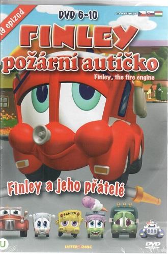 Finley - požární autíčko DVD 6-10 ( BOX )