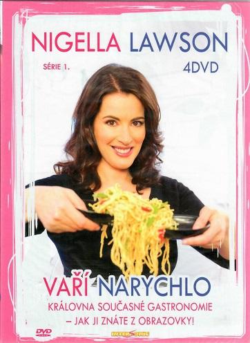 Kolekce Nigella Lawson 1. série - 4 DVD ( BOX )