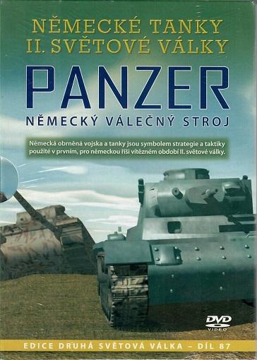 Německé tanky II.světové války - Panzer ( digipack ) DVD