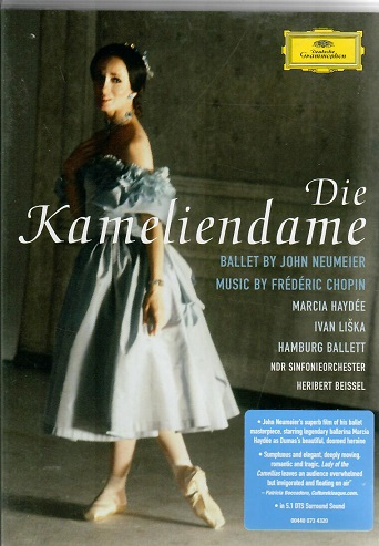 Die Kameliendame ( ballet by John Neumeier ) plast DVD