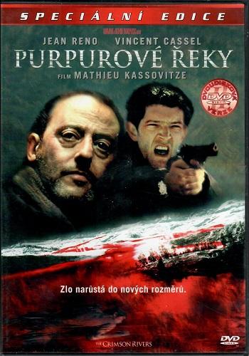 Purpurové řeky 2DVD ( originální znění, tiulky CZ ) plast DVD