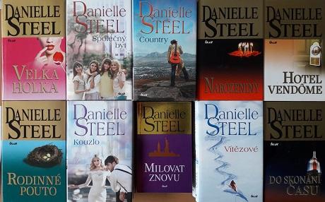 Kolekce knih Danielle Steel 2.-10x