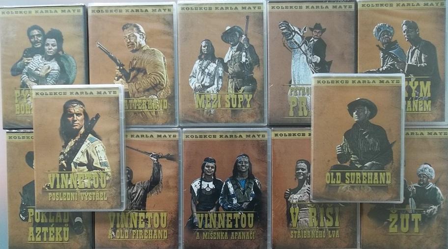 Karel May - Kolekce 12 DVD ( plast ) - nekompletní