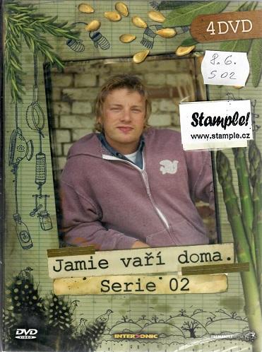 Jamie Vaří doma 2. série - 4 DVD ( BOX )