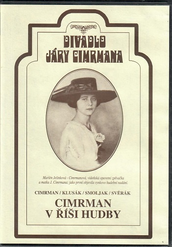 Divadlo Járy Cimrmana ( Cimrman v říši hudby ) - plast DVD
