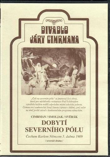 Divadlo Járy Cimrmana ( Dobytí severního pólu ) - plast DVD