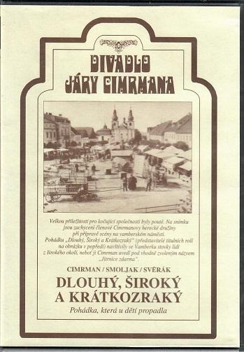 Divadlo Járy Cimrmana ( Dlouhý, široký a krátkozraký ) - plast DVD