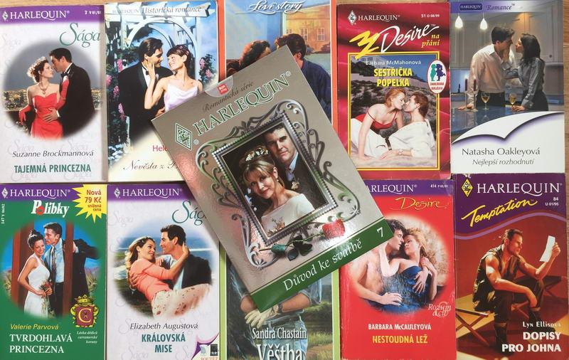 Velká knižní kolekce Harlequin XXIII. - 10x bazarová kniha + DVD dárek zdarma