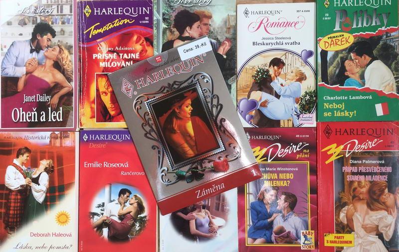 Velká knižní kolekce Harlequin XXIV. - 10x bazarová kniha + DVD dárek zdarma