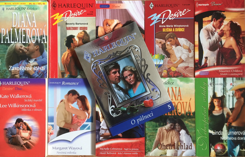 Velká knižní kolekce Harlequin XXX. - 10x bazarová kniha + DVD dárek zdarma