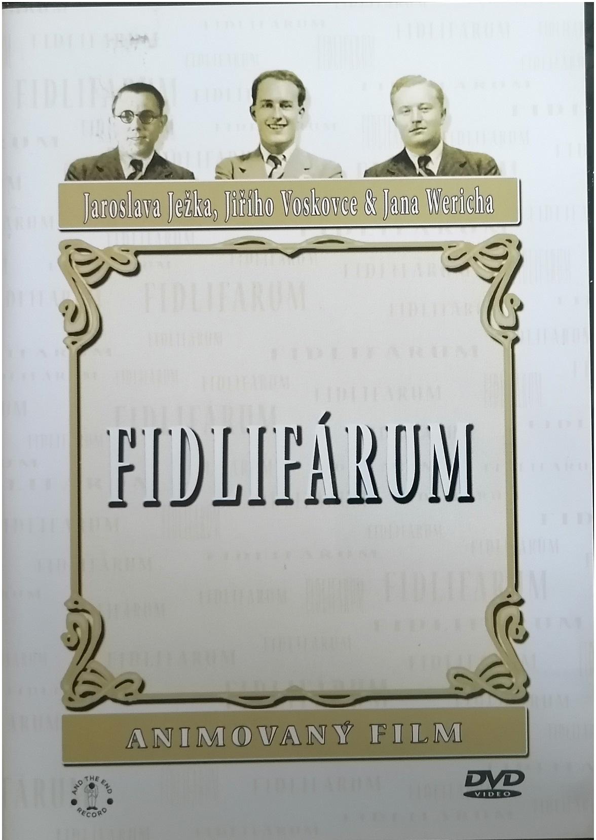 Fidlifárum - DVD plast